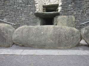 Newgrange Tomb Entrance