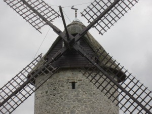 Skerries windmill up close