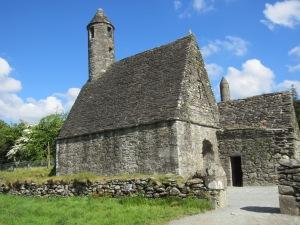 St Kevin's church at Glendalough