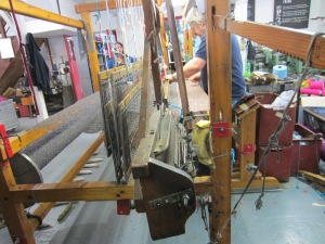 One of the Weaving Looms inside the Avoca Mill