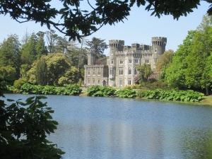 Johnstown Castle (19th C Gothic Revival) - the Irish Agricultural Museum was in the grounds here